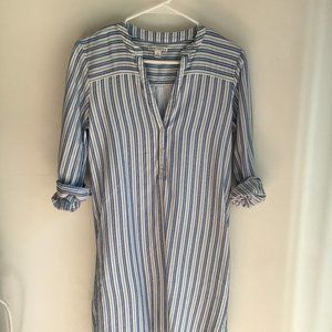 J. Crew Cotton Shirt Dress